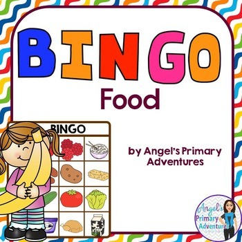 Food Themed Bingo Game