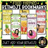 Food Themed: Bitmoji Bookmarks!