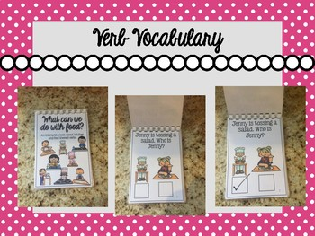 Food Themed Interactive Books for Speech-Language Therapy