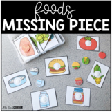 Food Themed Missing Pieces Task Box | Task Boxes for Speci