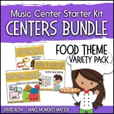 Food Themed Music Center Starter Kit - Variety Pack Bundle