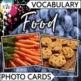 Food Vocabulary Flashcards (Speech Therapy, Special Education, ESL, etc.)