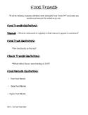 Food Trends - Food & Nutrition II