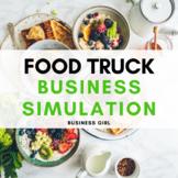 Food Truck Business Simulation Semester Project Bundle
