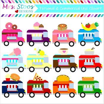 Food Truck Clip Art 12 Images