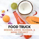 Food Truck Design, Logo, Slogan, and Menu