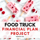 Food Truck Financial Plan with Invoice and Purchase Order