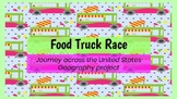 Food Truck Race United States Geography Project
