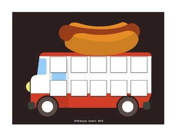Food Truck Reinforcement Speech Game