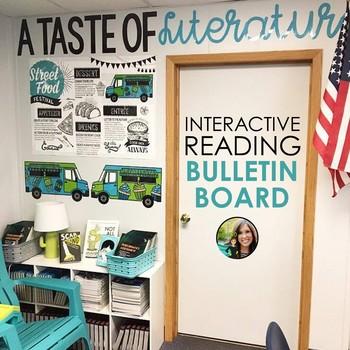 Food Truck Wall Interactive Bulletin Board For