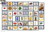 Food Types Animated Board Game