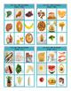 Food Types Tic-Tac-Toe or Bingo