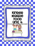 Food Unit - For use with the California Treasures Language Arts Program