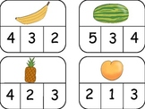 Food Unit with Math and Reading Centers Common Core Aligned