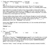 Vocab Questions--Food (Level 1)