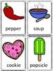 Food Vocabulary Flashcards