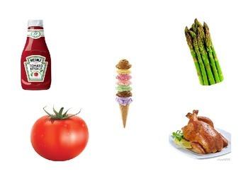 Food Vocabulary Game- La nourriture