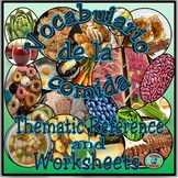 Food Categories Vocabulary Reference - El vocabulario de l
