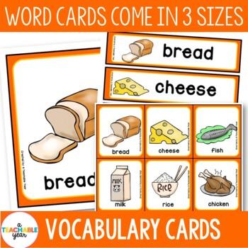 Food- Vocabulary Pack