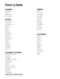 Food Vocabulary Unit Bundle (Spanish 2: Realidades)