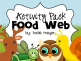 Food Web Activity Pack