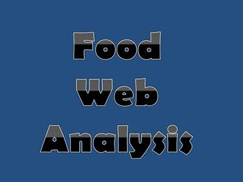 Food Web Analysis