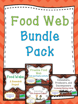 Food Web Bundle Pack