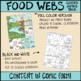 Food Web Comic with Doodle Comic