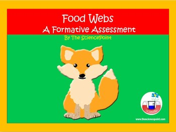 Food Web - Formative Assessment