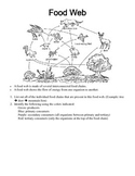 Food Web Handout and Questions