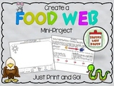 Food Web Mini Project:  Just Print and Go!