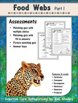Food Web Part 1 Assessment