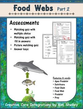 Food Web Part 2 Assessment
