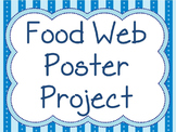 NGSS Aligned: Food Web Poster Project