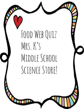 Food Web Quiz