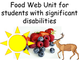 Food Web Unit for Students with Significant Disabilities