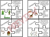 Food Web Vocabulary Puzzle Game