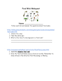 Food Web Webquest
