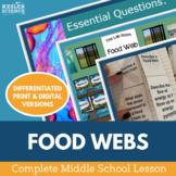 Food Webs Complete 5E Lesson