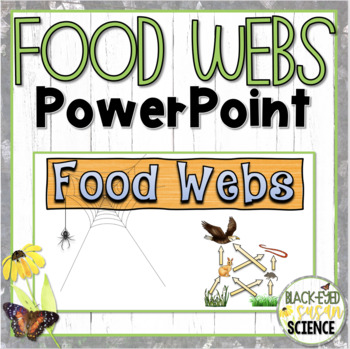 Food Webs Doodle Notes PowerPoint