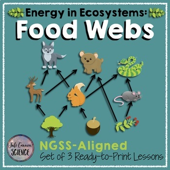Food Webs Only - 3 Lessons