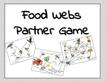 Food Webs Partner Game
