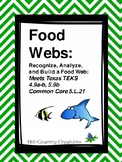 Food Webs:  Recognize, Analyze, and Build a Web