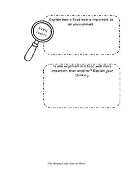 Food Webs- Science Interactive Notebook & Journal