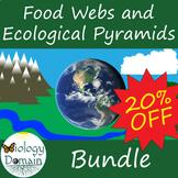 Ecology: Food Webs and Ecological Pyramids Bundle