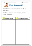 Food: What do you eat? ... class survey