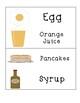 Food Word Cards