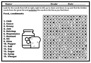 image relating to Printable Nutrition Quiz called Nutritious Feeding on And Nutrients Worksheets Academics Pay back Academics