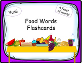 Food Words Flashcards