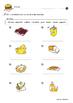 Food Worksheets for Kids *Printables*